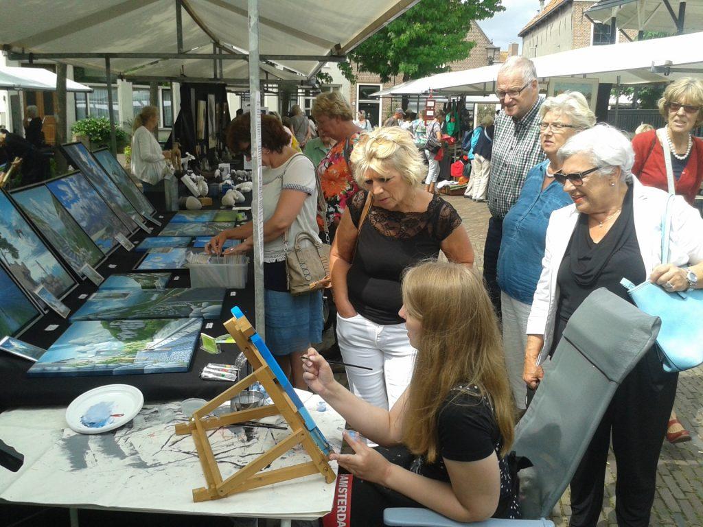 Kunstmarkt Spaarndam 2016