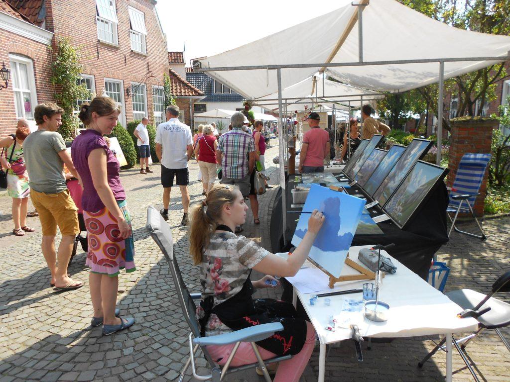 Kunstmarkt Ootmarsum 2016