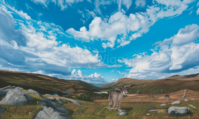 Kim Wiggers surrealistisch surrealism magisch realististisch magic realism olieverf oil painting schilderij painting Leidende Weg